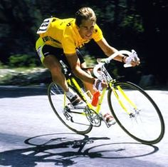Greg LeMond - my first cycling hero
