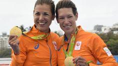#rio2016 GOUD De Nederlandse roeisters Maaike Head en Ilse Paulis hebben op vrijdag 12 aug  bij de Olympische Spelen in Rio de Janeiro goud veroverd in de lichte dubbeltwee. Het nieuwe koningskoppel van Oranje zegevierde na een goed opgebouwde race in een tijd van 7.04,73. Canada eindigde als tweede (7.05,88), het brons was voor China (7.06,49).