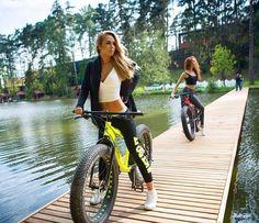 Bikes bridges Beer — #bike #girls #biking #bridges #cycling #fatbike...
