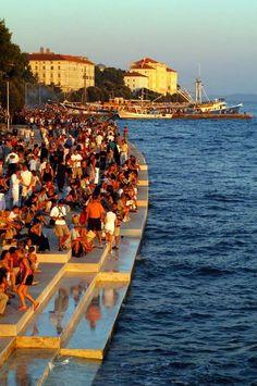 Zadar Sea Organ, Croatia