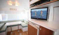 trailer redesign 3 The Comfy Way of Living in an Aistream Trailer by Matthew Hofmann