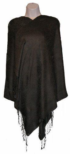 Black Pashmina Shawl EastEssence. $24.49