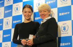 オルタナS   知花くらら、日本初の国連WFP日本大使に