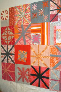 Do. Good Stitches Asterisk quilt | by freshlypieced