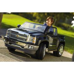 "Rollplay Chevy Silverado 12 Volt Powered Ride On - Rollplay - Toys ""R"" Us"