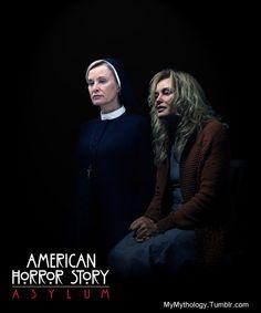 AMERICAN HORROR STORY asylum Jessica Lange