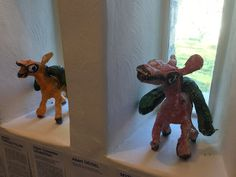 The fabulous collection exhibited in the House. Art Brut, Dinosaur Stuffed Animal, Gallery, Animals, Collection, Animales, Roof Rack, Animaux, Animal