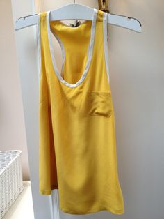 Joie Silk Mustard Top
