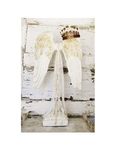 Angel Wing SculptureAngel Wing by ColorfulCastAndCrew on Etsy