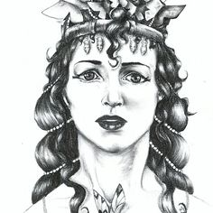 Butterfly Crowned Priestess