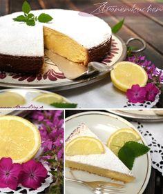 Zitronenkuchen - Oma Elfriede hat den gemacht für Muttis Geburtstagfeiern