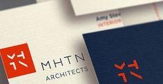 MHTN Architects Identity by modern8 Brand Identity, Branding, Slc, Packaging Design, Architects, Behance, Graphic Design, Artists, Logos