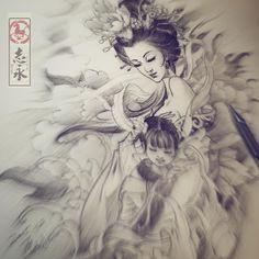 #chineseinkping#tattrx#tattoo#tattooed#tattooist#tattoostuff#tattoostagram#cooltattoos#tattooartistmagazine#tattooartmagazine#tattoosnob#art#tattooed#ink#arttattoo#samuraitattoo#Nirvana#tattoo#asiantattoo#europeantattoo#zhiyongtattoo#chinesetattoo#traditionaltattoo#orientaltattoo#japanesetattoo