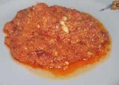 Strapatsada (eggs with tomato)