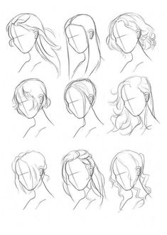 Drawing Hair Tips Hair Ref Set by on - - zeichn. Drawing Hair Tips Hair Ref Set by on - - zeichn.,Zeichnen Drawing Hair Tips Hair Ref Set by on - - zeichnen/Art - Tutorials Cool Art Drawings, Pencil Art Drawings, Art Drawings Sketches, Art Sketches, Easy Drawings, Drawings Of Hair, Colorful Drawings, Hipster Drawings, Hair Styles Drawing