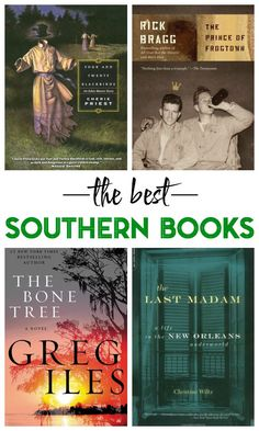 Love the south? These books are a must-read for you then - the best southern books!