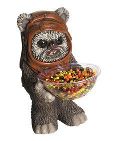 Look what I found on #zulily! Star Wars Ewok Candy Bowl Holder #zulilyfinds