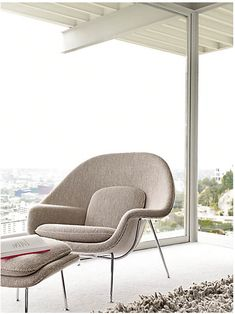 Womb Chair, shot on location in Case Study House No. 22