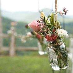 a mason jar wedding.