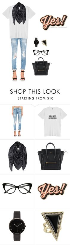 """""""SAY YES FOR BACK WORK"""" by dierafl on Polyvore featuring Etienne Marcel, Louis Vuitton, Anya Hindmarch, I Love Ugly and House of Harlow 1960"""