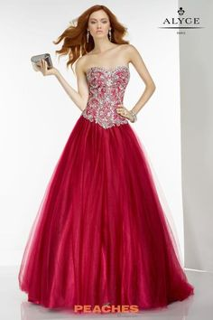 Alyce Paris Tulle A Line Dress 6547 Ball Gown Dresses 2ee800056