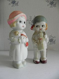 Vintage Porcelain Bisque Dolls Boy and by SongSparrowTreasures, $20.00