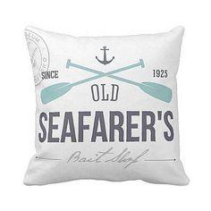 Pillow Cover Nautical Seafarer