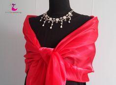 Gala sjaal rood