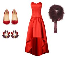 """""""Monacal"""" by patricia-cuesta on Polyvore featuring moda, Christian Louboutin y Dolce&Gabbana"""