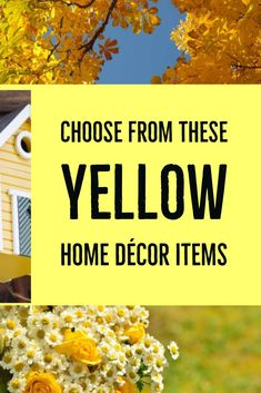 Did you know that yellow is the color for thinkers and ideas? Maybe that's why you want to decorate your space with it...Check out these yellow decor items... #yellowdecor #yellowaesthetic #yellowrooms #furnituretrends #funkthishouse