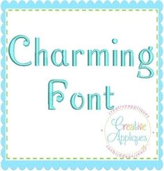 Charming Font - 6 Sizes!