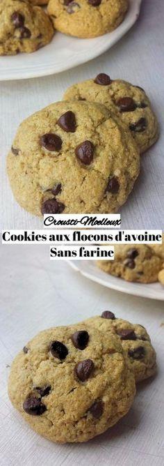 Cookies aux flocons d'avoine { sans farine, Sans gluten}