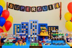 festa super heroi menino - Pesquisa Google