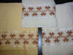 Toalhas | Toalhas do meu enxoval - super fácil de bordar!!! | *Lilica* | Flickr