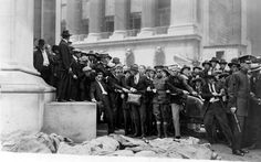 early photographs | The aftermath of the September 16, 1920 Wall Street bombing. Photo ...