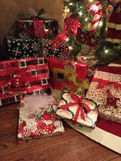 Fun packages under my tree
