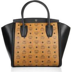 tasche von mcm visetos vintage handtasche cognac 24 cm handbags pinterest. Black Bedroom Furniture Sets. Home Design Ideas