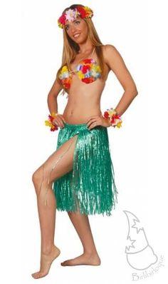 Falda Hawaiana larga Ref. 10243 | Accesorios disfraces | Comprar en Tienda-disfraces.es