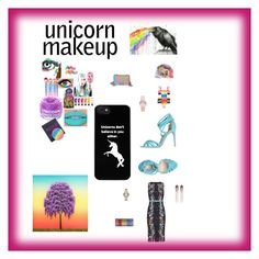 """Unicorn Makeup"" by cheryl-muscoe on Polyvore featuring Missoni Mare, Mimi Wade, Jimmy Choo, Chanel, Peter Pilotto, Marc Jacobs, Forever 21, Alexandre Birman, Madewell and FCTRY"