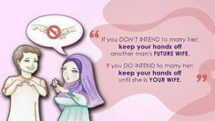 If you don't intend to marry her, keep your hands off another man future Wife.