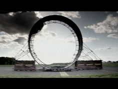 Amazing Loop the Loop car stunt from Dunlop and Fifth Gear