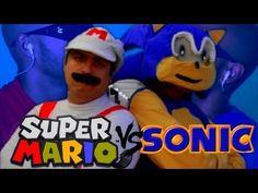 Sonic vs Mario Duelo LENDARIO