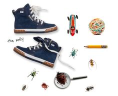 UGG Australia's suede lace-up sneaker for #kids - the #Rally #BackToSchool #Fall