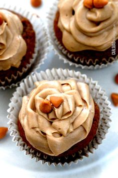 Pumpkin-Spcie-Cupcakes-with-Butterscotch-Frosting7.jpg (650×975)