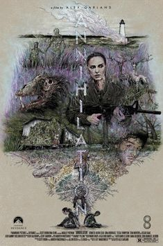 Annihilation (2018) [995 x 1500] Horror Posters, Cinema Posters, Film Posters, Best Movie Posters, Movie Poster Art, Annihilation Movie, Movie Synopsis, Sci Fi Films, Fiction Movies