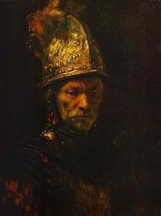 El hombre del casco de oro - Man in a Gold Helmet - Rembrandt Harmenszoon van Rijn