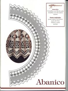 Archivo de álbumes Crochet Embellishments, Bobbin Lace Patterns, Filigree, Fiber Art, Arizona, Lace, Hand Fans, Chrochet, Silk Thread