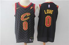 769531289 Nike Cavaliers  0 Kevin Love Black Stitched NBA Swingman Jersey