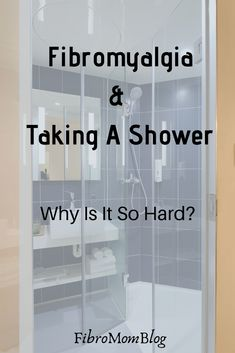 If you have fibromyalgia then you know exactly how hard a shower can be in your body. It can take energy and be painful! Fibromyalgia Disability, Signs Of Fibromyalgia, Fibromyalgia Pain, Chronic Pain, Fibromyalgia Syndrome, Endometriosis, Chronic Fatigue Syndrome, Chronic Illness, Arthritis