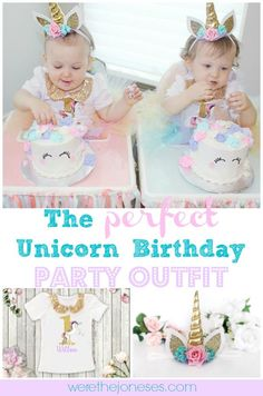 3a58a1a58 48 Best Cake Smash Ideas images | 1 year birthday, Unicorn party ...